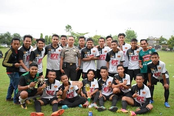 Selebrasi Krocok FC usai menjuarai turnamen Japah Cup 2019
