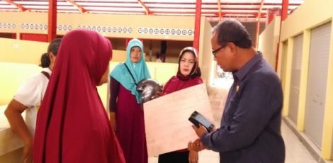 Sidak Ketua DPRD Bloradan Wakil Ketua DPRD ke Pasar Rakyat Sido Makmur Blora