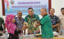 Ketua Difabel Blora Mustika (DBM) dalam launching gerakan Koin Difabel dalam Musrenbang Kecamatan Banjarejo