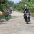 Kondisi ruas jalan Kamolan-Banjarejo