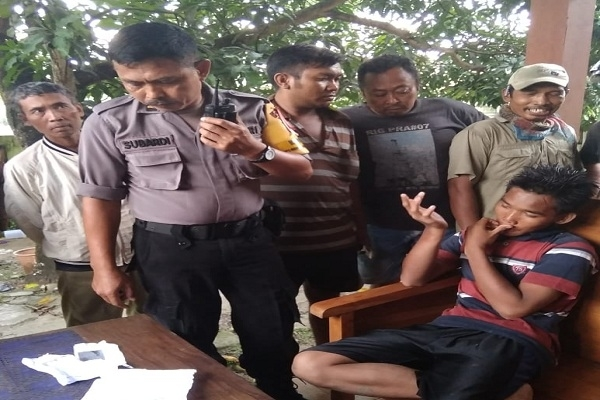 Galih (16) pelaku curanmor diamankan warga Dusun Bakal Desa Andongrejo Kecamatan Blora Kota, Kabupaten Blora