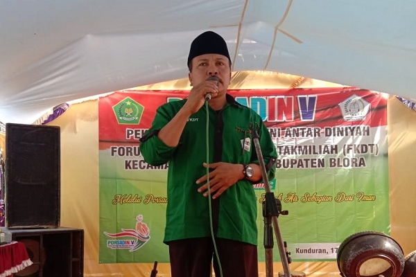 Ketua FKDT Kabupaten Blora, Cuk Suwartono