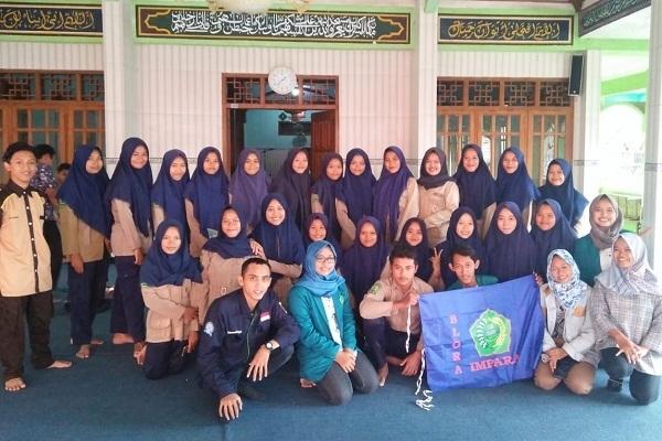 Impara Unwahas Semarang dalam sosialisasi di SMA Muhammadiyah Todanan