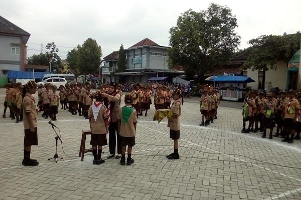 Penutupan Pesta Siaga Kwartir Ranting Ngawen, Kecamatan Ngawen Kabupaten Blora