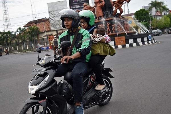 Kalis Mupriyanto (29), driver ojek online penyandang disabilitas
