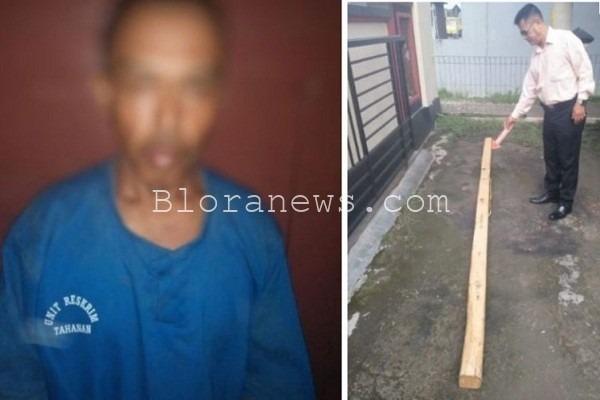 JSM dan sebatang kayu yang mengakibatkan dirinya dipolisikan