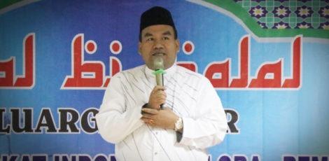 Wakil Bupati Blora Arief Rohman dalam halal bi halal Ikadin dan peradi