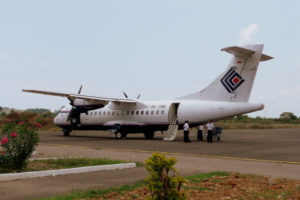 AKHIR 2019, BANDARA NGLORAM  DAPAT DIDARATI PESAWAT ATR 42