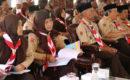 Rakor dan temu teknik Jamda Gerakan Pramuka XV tingkat Jateng di Pendopo Bupati Blora