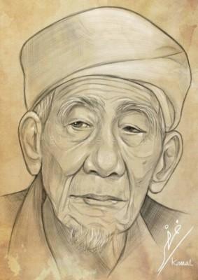 Mustasyar PBNU, KH Maimun Zubair (foto: NU Online)