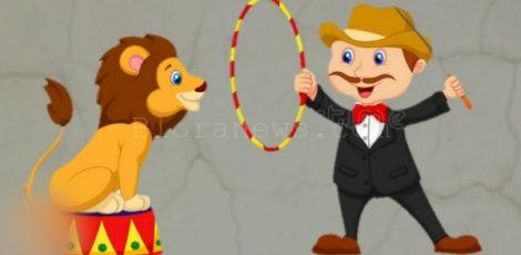 Ilustrasi sirkus