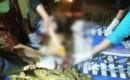 Jasad Mujari di rumah duka, Dusun Cerme RT 07 RW 03 Desa Pojokwatu Kecamatan Sambong Kabupaten Blora
