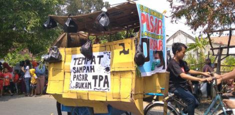 Sindiran warga Ngawen terhadap buruknya pengelolaan sampah
