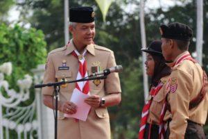 PESAN GANJAR DI JAMDA XV JATENG: KITA BENTUK SAKA MILENIAL!