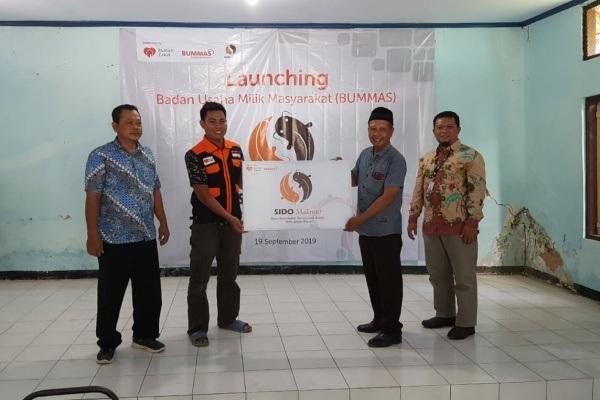 Launching BUMMAS Sido Makmur di Balaidesa Brumbung Kecamatan Jepon Kabupaten Blora