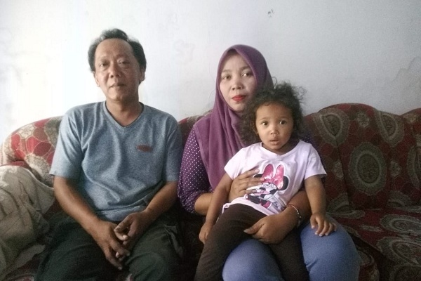 Keluarga Sugiono terpaksa meninggalkan Wamena dan mengungsi ke Blora