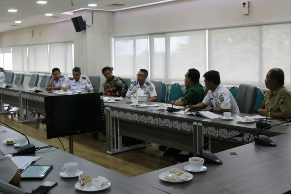Rakor Optimalisasi Pembangunan Bandara Ngloram, dikantor Dirjen Perhubungan Udara Kementerian Perhubungan RI, Jakarta
