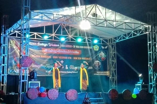 Keluarga Mahasiswa Blora (Kamaba) Madura dalam Pagelaran Budaya Warisan di Universitas Trunojoyo Madura