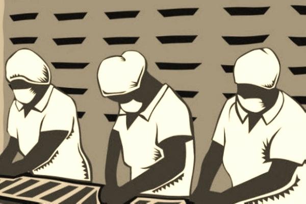 Ilutrasi buruh