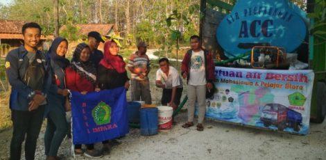 Impara Semarang menggelar bakti sosial distribusi air bersih di Kampung Samin, Dusun Karangpace Desa Klopoduwur Kecamatan Banjarejo Kabupaten Blora