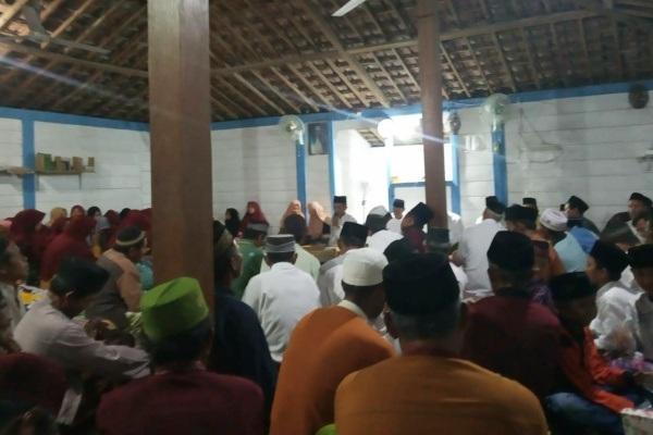 Peringatan Maulud Nabi Muhammad di Dusun Growong Desa Bangkleyan Kecamatan Jati Kabupaten Blora