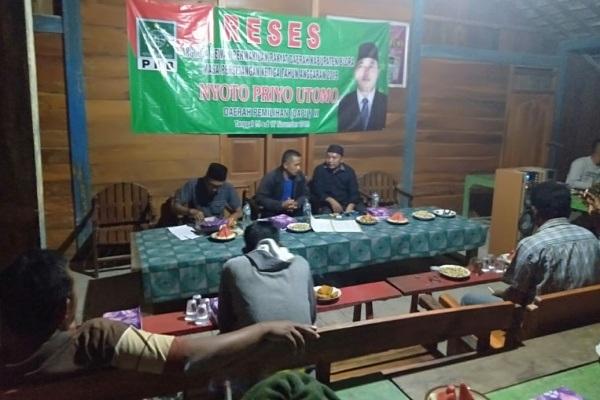 Reses anggota DPRD Blora, Nyoto Priyo Utomo di Dusun Gadung Desa Kepoh Kecamatan Jati Kabupaten Blora
