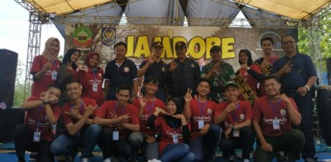 Penutupan jambore PIK-R Todanan di Bumi Perkemahan Kajengan Kecamatan Todanan Kabupaten Blora