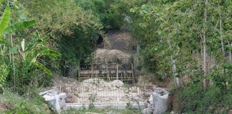 Jembatan Canggah di Dusun Canggah Desa Talokwohmojo Kecamatan Ngawen Kabupaten Blora