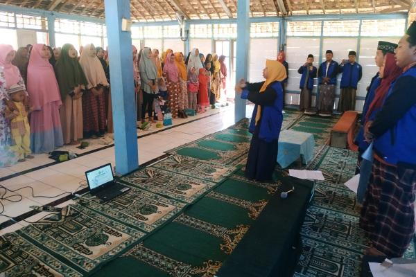 Mahasiswa KKN STAI Al Muhammad Cepu melaksanakan Sosialisasi Cegah Pernikahan Dini di Masjid Baitul Iman Kepoh Kecamatan Jati Kabupaten Blora