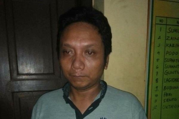 Tersangka penggelapan mobil rental, Marla Himawan (22)