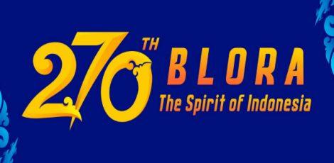 Logo Hari Jadi Blora ke- 270