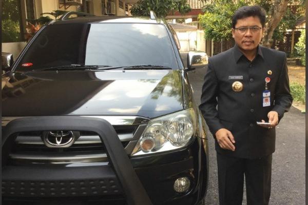 Ihwan Sudrajat saat bertugas sebagai Pj Bupati Blora 2015