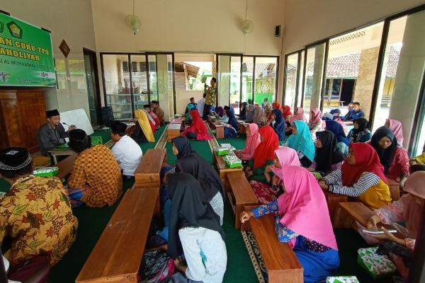 Penataran guru TPQ An Nahdliyah di Desa Bangkleyan Kecamatan Jati Kabupaten Blora