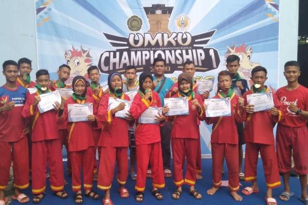 Kontingen Tapak Suci Blora dalam UMKU Championship 2019