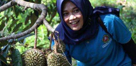Kampung Durian Nglawungan di Dusun Nglawungan Desa Tunjungan Kecamatan Tunjungan Kabupaten Blora