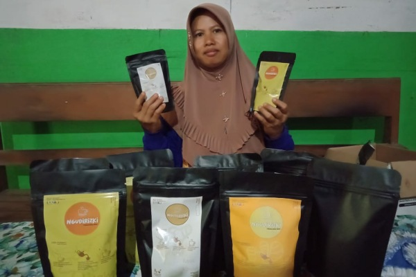 Ragam olahan jamu jawa rintisan Badan Usaha Milik Desa (BUMDes) Bacem Kecamatan Jepon Kabupaten Blora