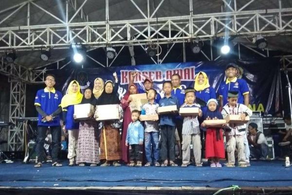Konser Amal dalam rangka Bulan Bakti Karang Taruna Desa Plosorejo Kecamatan Banjarejo Kabupaten Blora