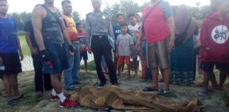 Korban tenggelam di Embung Dusun Sambong Kelurahan Wulung Kecamatan Randublatung Kabupaten Blora