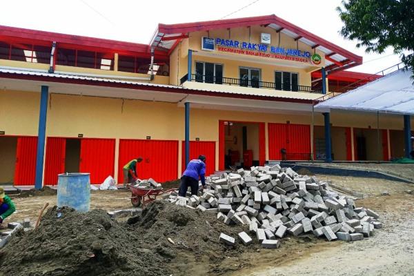 Pasar Banjarejo di Kecamatan Banjarejo Kabupaten Blora