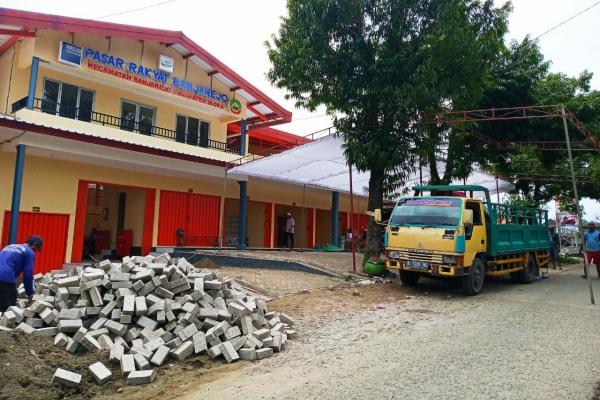 Pasar Banjarejo di Kecamatan Banjarejo Kecamatan Blora