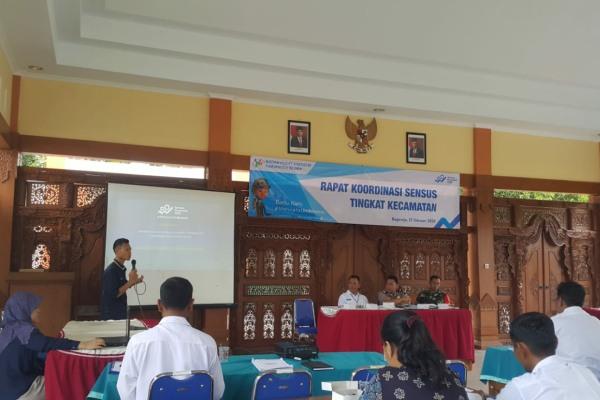 Sosialisasi Sensus Penduduk 2020 di Kecamatan Bogorejo Kabupaten Blora
