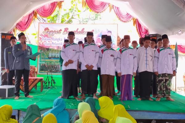 Pelantikan PAC IPNU-IPPNU Kecamatan Jati di Balaidesa Singget Kecamatan Jati Kabupaten Blora