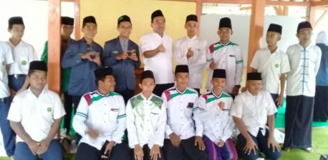 Wakil Bupati Blora Arief Rohman bersama para pengurus PAC IPNU Kecamatan Jati