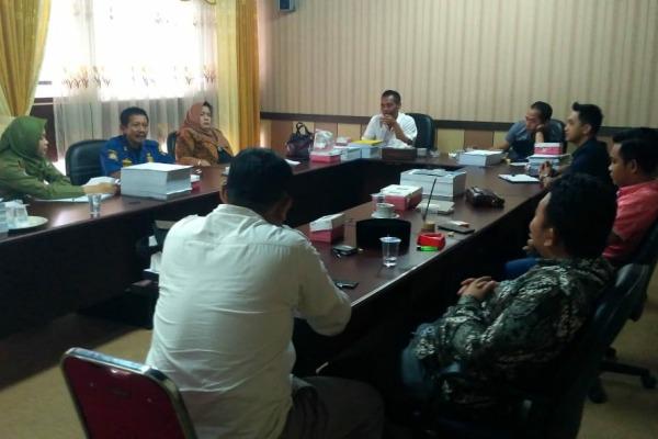 Rapat koordinasi Komisi A DPRD Blora dengan Satpol PP Kabupaten Blora
