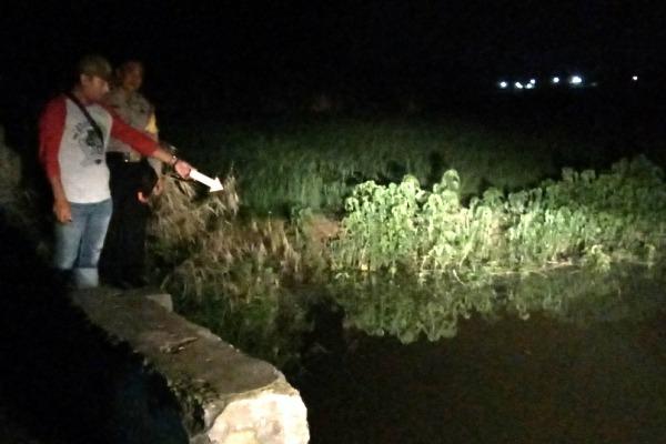 Lokasi sungai tempat korban tewas tenggelam