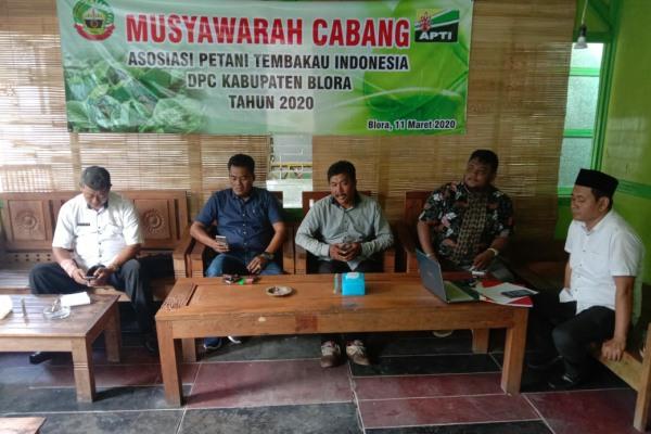 Musyawarah Cabang (Muscab) DPC APTI Kabupaten Blora 2020