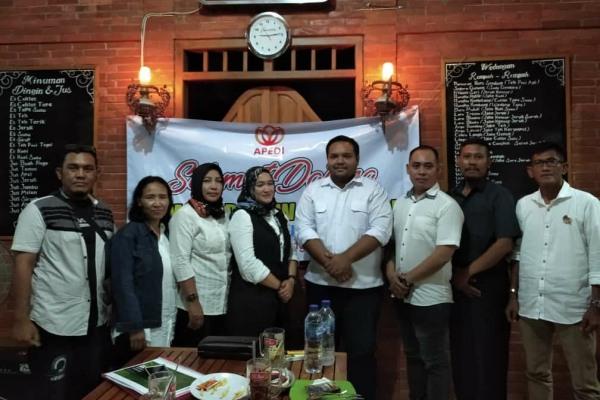 Kunjungan Ketua DPD APEDI Jateng di Kabupaten Blora