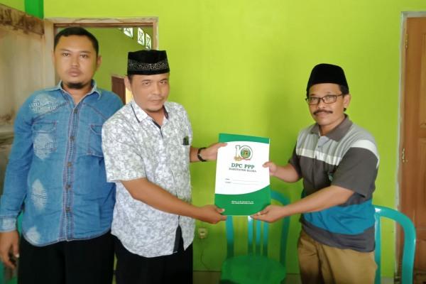 Pengambilan formulir pendaftaran Balon Bupati Blora 2020 di kantor DPC PPP Kabupaten Blora