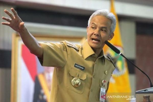 Gubernur Jawa Tengah, Ganjar Pranowo (foto: Antara)