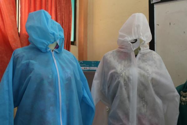 APD berbahan dasar kain spunbond produksi BLK Blora